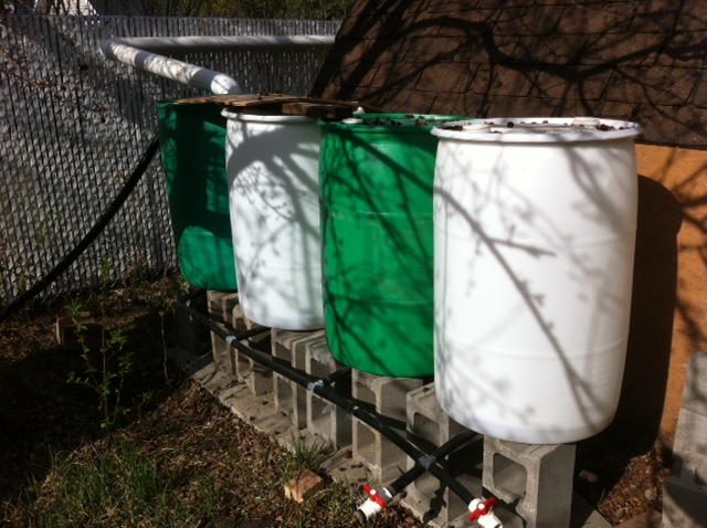 Rain Barrel Water Collection System