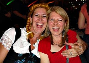 oktoberfest Edmonton Paulette and Darlene