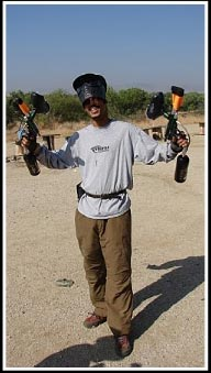 Double Paintball Guns - Rasta